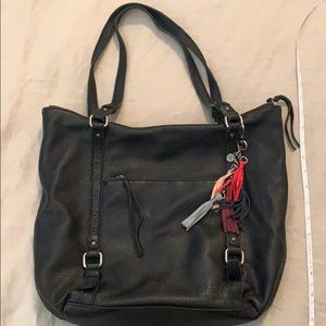 Black tote bag- The Sak